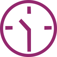 Clock 10.30am Icon
